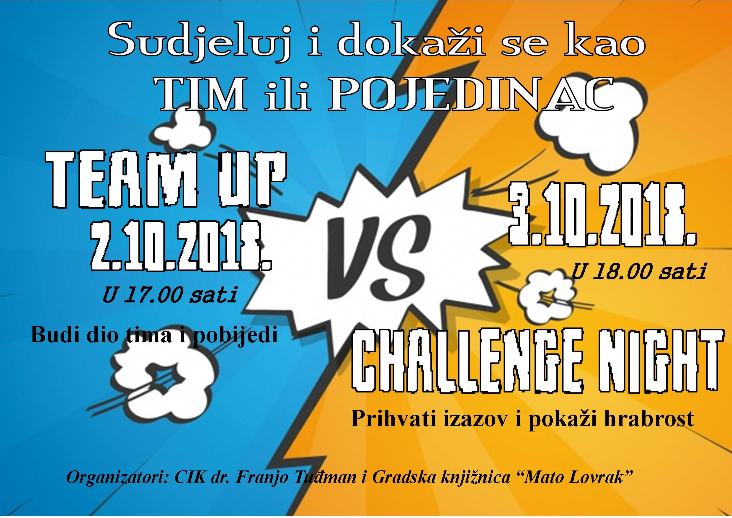 Team Up i Challenge night